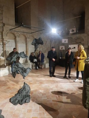 Exposition Chapelle St Julien Vernissage